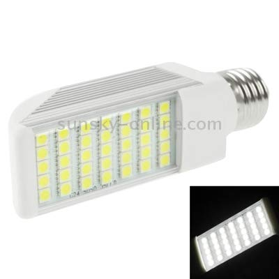 Lamp E27 8W 720LM LED Transverse Light Bulb, 35 LED SMD 5050, White Light, AC 85V-265V (Color : Color1)