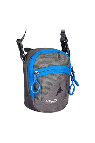 Milo Ocus Shoulder Bag - Dark Grey/Black, One Size