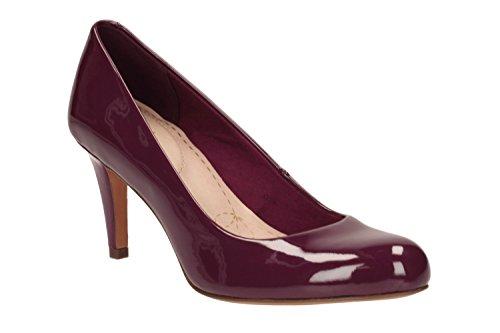 Clarks Carlita Cove, Zapatos de Tacón para Mujer morado
