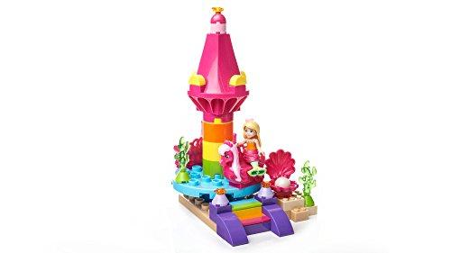 (Mega Construx Barbie Dreamtopia Seahorse Carousel & Mermaid Chelsea Action)