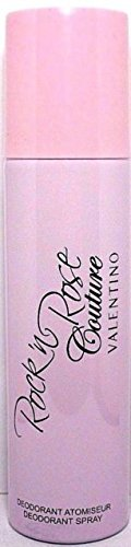 Valentino Rock'n Rose Couture Perfumed Deodorant Spray For Women 5.0 Oz / 150 ml Brand New Item