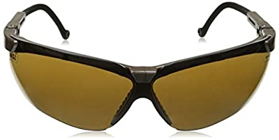 Uvex S3221X Genesis Safety Eyewear, Earth Frame, Espresso UV Extreme Anti-Fog Lens