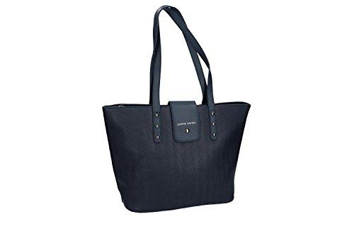Pam Shop Bolsa mujer hombro PIERRE CARDIN azul con abertura zip VN1221