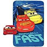 Disney Cars Built For Speed Lightning McQueen Plush Nogginz Pillow and 62