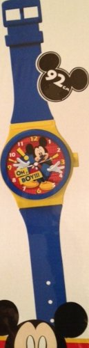 Horloge Murale Pendule Montre Geante 92 Cm Mickey Disney Decoration