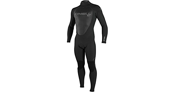 Negro Hombre L y Alto ONeill Wetsuits Epic 3//2 Long Traje h/úmedo