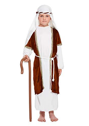 Henbrandt Brown Shepherd Costume Age 4-6 Years