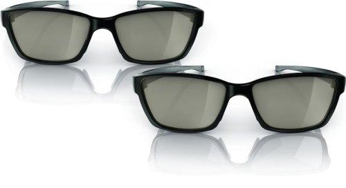Easy 3D TV Glasses PTA417 - 3D-Brille - polarisiert (Packung mit 2 )