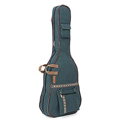 The House of Tara - Combat Blue Canvas Fabric Acoustic Guitar Bag 7