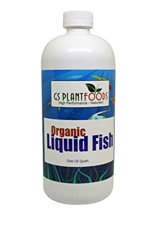 Organic Hydrolyzed Liquid Fish Fertilizer 32oz