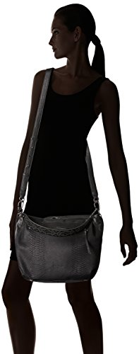 Miramar Women's and Hobo Oil Snakeskin Leather Studded Berlin Liebeskind Black qEn45