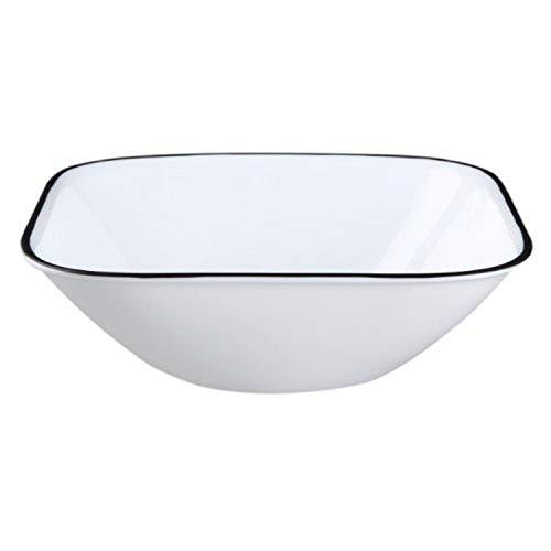 Corelle Square Simple Lines 22-Ounce Bowl Set
