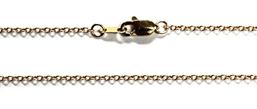 15 Inch Cable Chain (14Kt 14K Yellow Solid 15