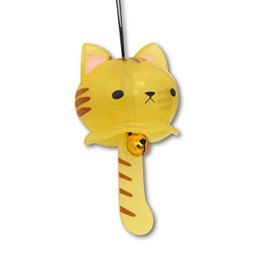 Nyanko wind - bell mascot capsule colletion brown x TIGER cat capsule toy ()