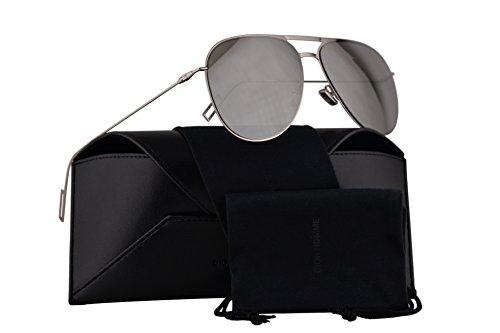 Homme Eye - Christian Dior Homme Dior0205S Sunglasses Palladium w/Silver Mirror Lens 59mm 010SS Dior0205/S Dior 0205/S Dior 0205S