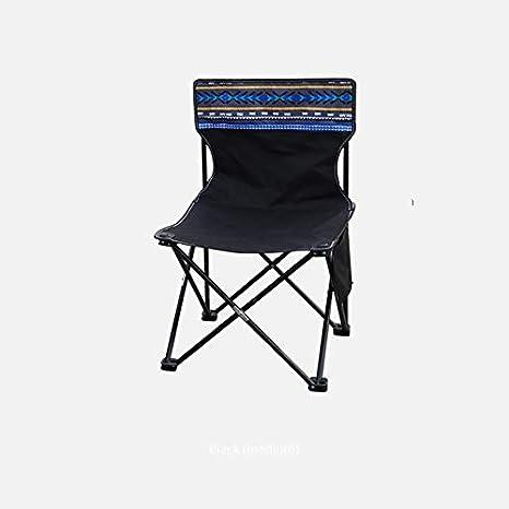 JLBao Silla de Playa/Camping Plegable y Liviana, compacta y ...
