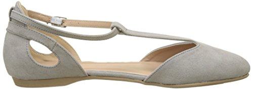 Gris New con Grey Kar Vertical y Mid Zapatos 4 para Mujer Tira Tacon Look RURZvfH