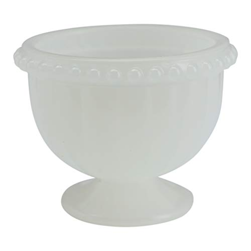 J.C. and Rollie Small Milk Glass Cup Vase (Milk Cheap Glass Vases)