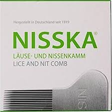 NISSKA Lice and Nit Removal Comb by NISSKA