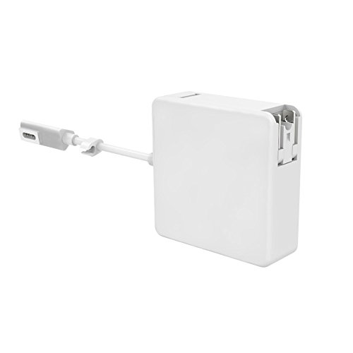 Ostrich Power Adapter 60W Charger Compatible with MacBook Pro Magsafe L-Tip Replacement Power Adapter for MacBook Pro 13-inch - Before Mid 2012 White