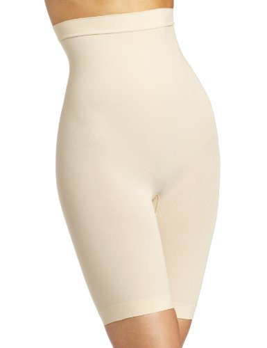 Maidenform Women's Control It High Waist Thigh Slimmer, Barely Nude, X-Large by Flexees