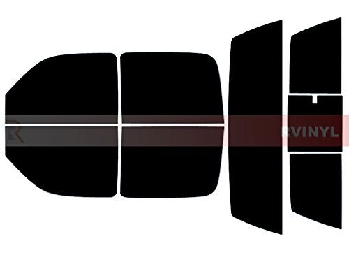 Rtint Window Tint Kit for Chevrolet Silverado 2001-2006 (4 Door) - Complete Kit - 5%