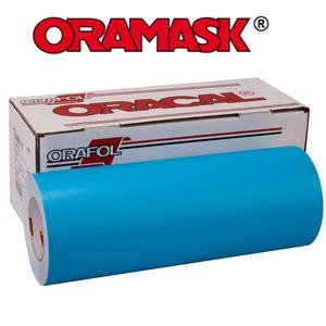 ORAMASK 813 Paint Mask Stencil 3mil, Adhesive Water-based - 24'' x 50YD Roll by ORACAL