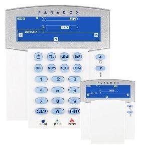 Paradox k32irf/86 teclado con VISUALIZZATORE LCD Ad Icone ...
