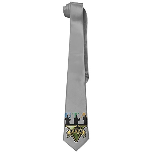 Price comparison product image ONESEDA Men's Grand Theft AutoV Tie Necktie Ties