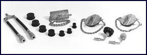 Branick Industries Import Car Brake Bleeder Adapter Set for Pressure Bleeder (BRN-G304) by Branick