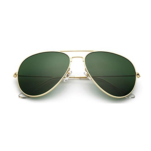 NUBAO Glass Sunglasses Men's Eyes Lens Mirror Driving Driver Sunglasses Men Driving Glasses Beach Break Mandatory (Color : Dark green) (Was Sonnenbrille)