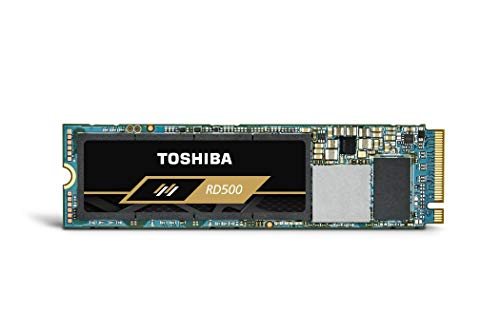 Toshiba RD500 NVMe SSD 1000 GB M.2 2280 PCIe 3.0 x4, interne solid-state module