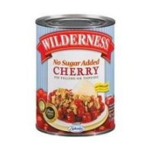 Comstock and Wilderness Cherry Pie Filling, 20 Ounce - 12 per case.