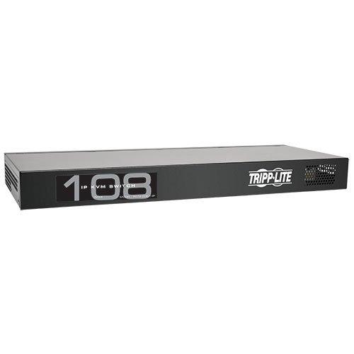 - TRIPP LITE 8-Port Compact 1+1 User Rackmount Cat5 IP KVM Switch (B072-008-1-IP)
