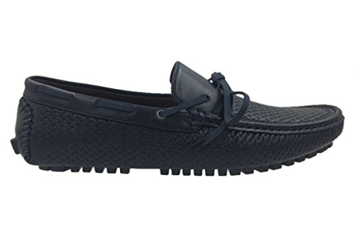 Andrew Fezza Af-1959 Marc Lace Instappers Loafer Driver Mocassins Navy Schoenen