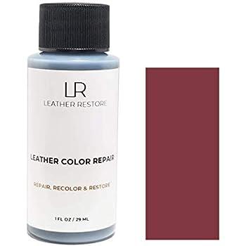 Amazon Com Leather Restore Leather Color Repair Burgundy