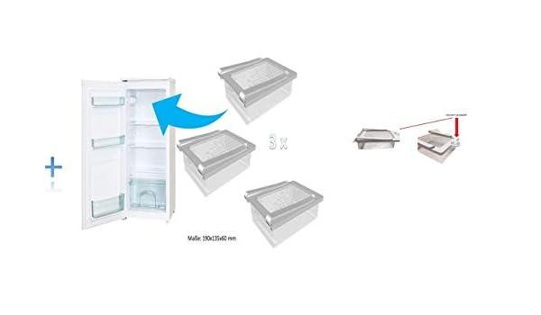Cool Slide - Organizador de almacenaje, Estante de Cocina, Nevera ...