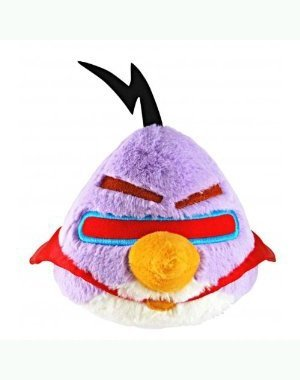Angry Birds Space 8-Inch Purple Bird with (Angry Birds Lazer Bird)
