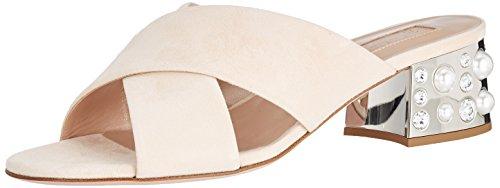 Skin Suede beige Sandals Sebastian Open Beige Toe Professional S7558 Women''s qOvwx8Zz