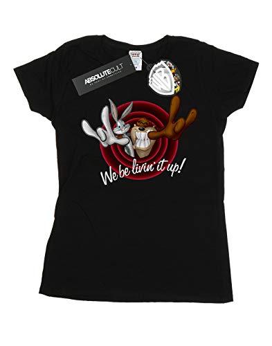 shirt Noir Tunes Livin' Femme T Up Absolute Cult Looney It zqwIIU8E