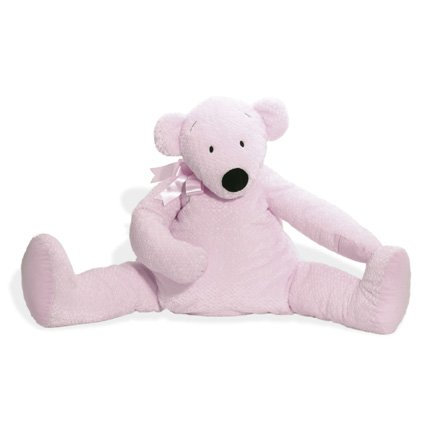 Droopy Bear North American Bear Co Pastel Pink ()