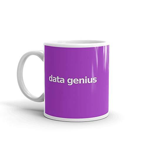 Data Genius - Purple Mug 11 Oz White Ceramic (Best Sentiment Analysis Python)