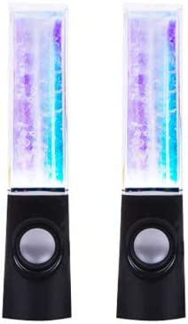 Bluetooth Version Black Models Creative Water Dance Speakers Fountain Colorful Lights Water Jet Audio Mobile Computer Box subwoofer