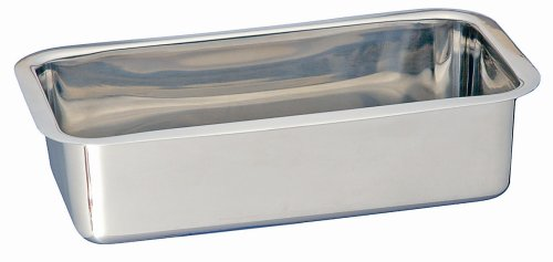 Kitchen Supply Stainless Steel Loaf Pan 9 1 2 X 5 X 2 1