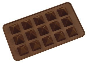 Pyramid Mould (Silicone Chocolate Pyramids Moulds by Josef Strauss)