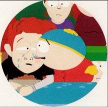 Cartman gustos el dulce lágrimas de tristeza insondable ...