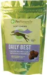 Pet Naturals of Vermont Daily Best for Dogs Chicken Liver -- 45 Soft Chews