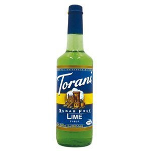 Lime Syrup - Torani Sugar Free Lime Syrup, 750 ml
