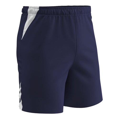 Champro Dri Gear Football - Champro Dri-Gear Soccer Shorts - Adult - Navy/White - Small