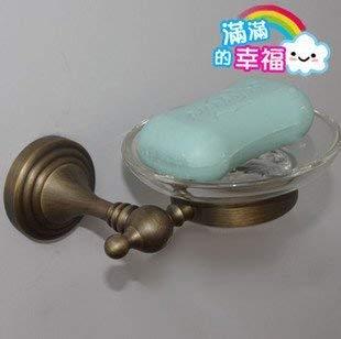 Brass Accents European Soap Dish - Ligsruise European-Style SOAP Dish, Vintage Luxury Antique Copper Plate, SOAP Dish